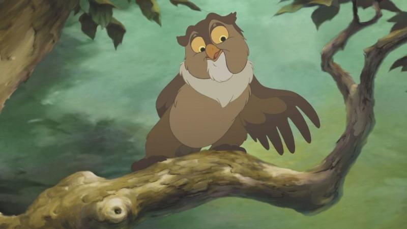Uno dei protagonist del film Bambi e il grande principe della foresta