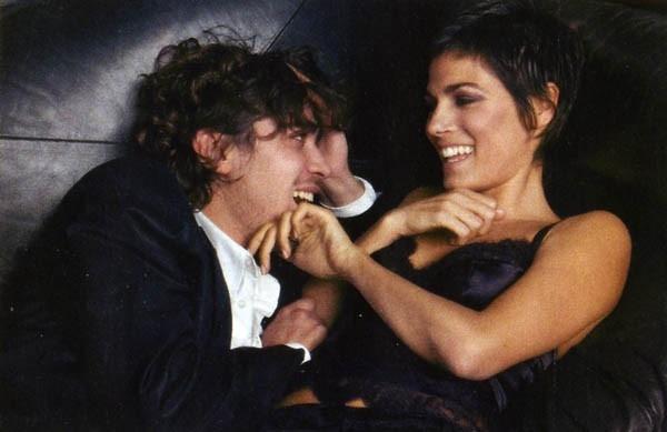 Valeria Solarino con Riccardo Scamarcio