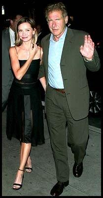 Calista Flockhart e Harrison Ford
