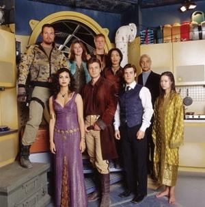 Il cast della serie Firefly