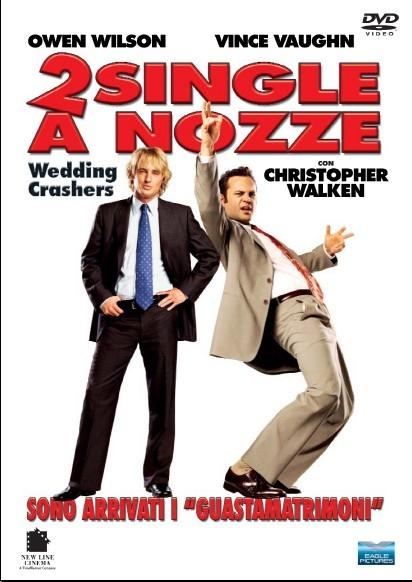 La copertina del dvd di 2 single a nozze