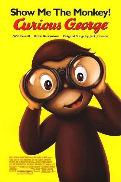 La locandina di Curious George