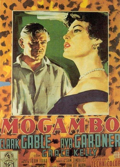 La locandina di Mogambo
