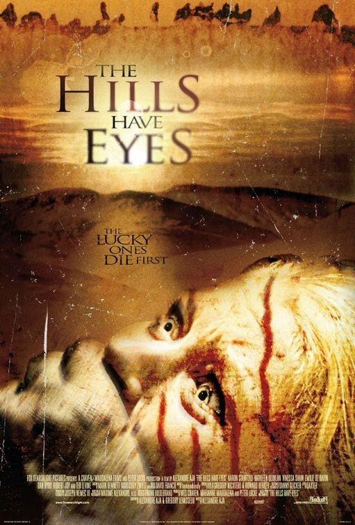Il poster di The Hills Have Eyes