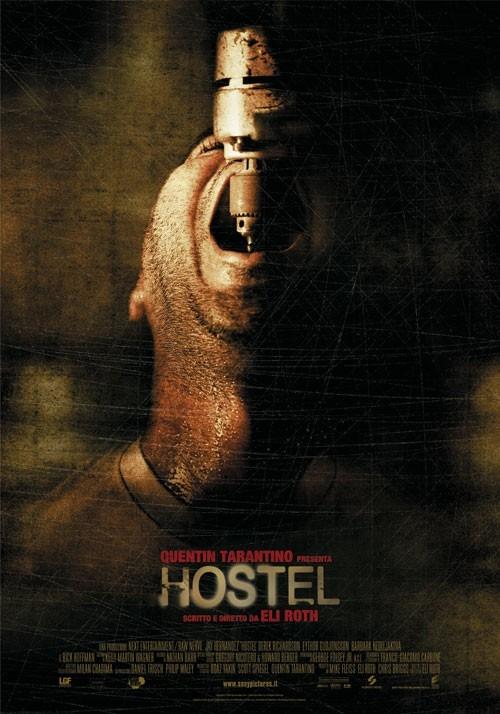 La locandina italiana di Hostel