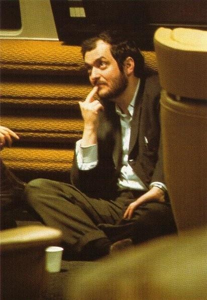 Stanley Kubrick sul set del film 2001: Odissea nello spazio