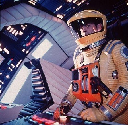 Una scena di 2001: Odissea nello spazio di Stanley Kubrick