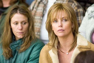 Frances McDormand e Charlize Theron in North Country