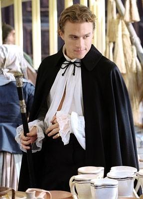 Heath Ledger nei panni di Casanova