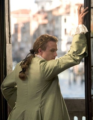 Heath Ledger in una scena di Casanova