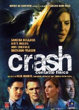 La copertina DVD di Crash - Contatto fisico