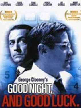 La copertina DVD di Good Night, and Good Luck