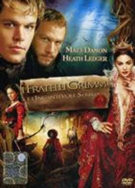 La copertina DVD di I fratelli Grimm e l'incantevole strega