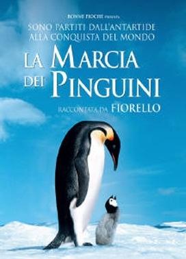 La copertina DVD di La marcia dei pinguini