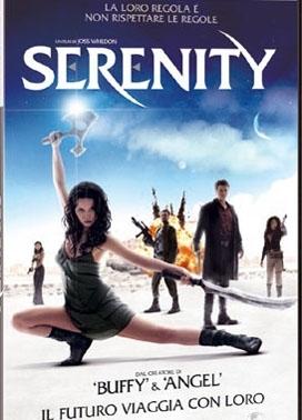La copertina DVD di Serenity