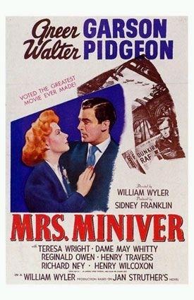 La locandina di La signora Miniver