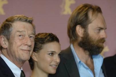 Berlinale 2006: John Hurt, Natalie Portman e Hugo Weaving