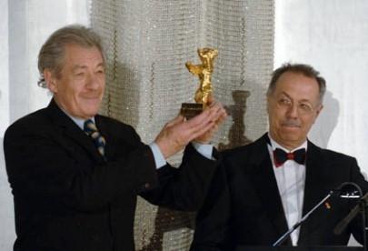 Berlinale 2006: Sir Ian McKellen riceve l'Orso d'Oro alla carriera