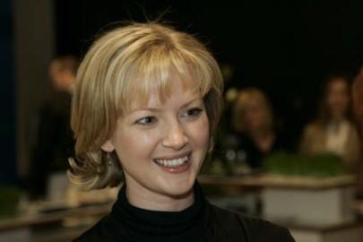 Gretchen Mol a Berlino 2006 per presentare The Notorius Bettie Page