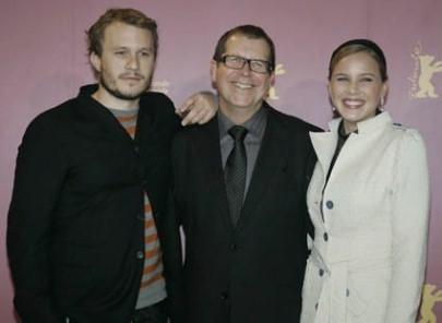 Heath Ledger, Neil Armfield e Abbie Cornish a Berlino 2006 per presentare Candy