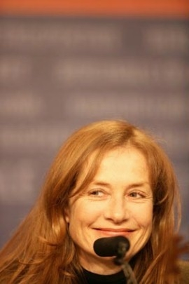 Isabelle Huppert a Berlino 2006 per presentare Comedy of Power