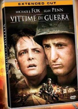 La copertina DVD di Vittime di guerra - Extended cut