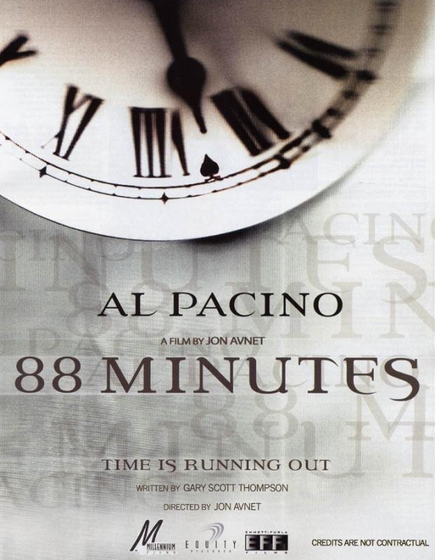 La locandina di 88 Minutes
