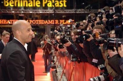 Vin Diesel a Berlino 2006 per presentare Find Me Guilty di Sidney Lumet