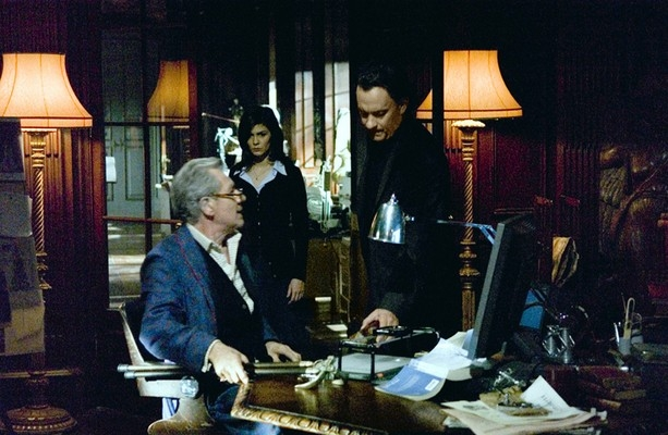Tom Hanks, Audrey Tautou e Ian McKellen ne Il codice Da Vinci