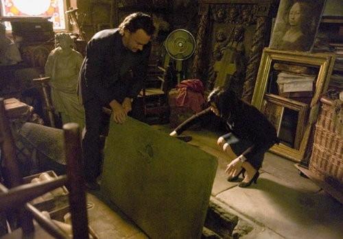 Tom Hanks e Audrey Tautou nel film Il codice Da Vinci