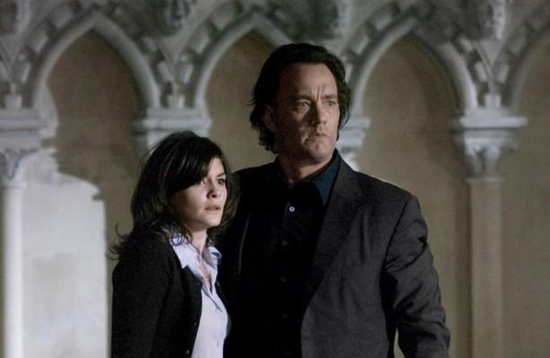 Tom Hanks e Audrey Tautou ne Il codice Da Vinci (2006)