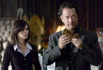 Tom Hanks ed Audrey Tautou ne Il codice Da Vinci