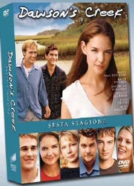 La copertina DVD di Dawson's Creek - Stagione 6