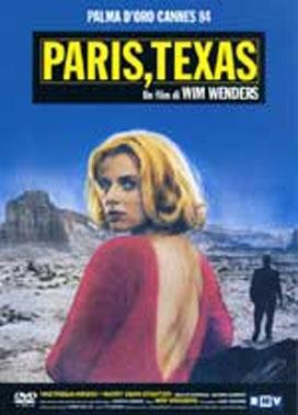 La copertina DVD di Paris, Texas