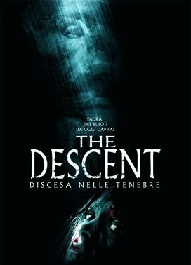 La copertina DVD di The Descent - Discesa nelle tenebre
