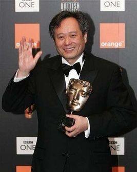 Ang Lee con il suo BAFTA award