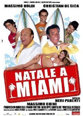 La copertina DVD di Natale a Miami - Edizione speciale