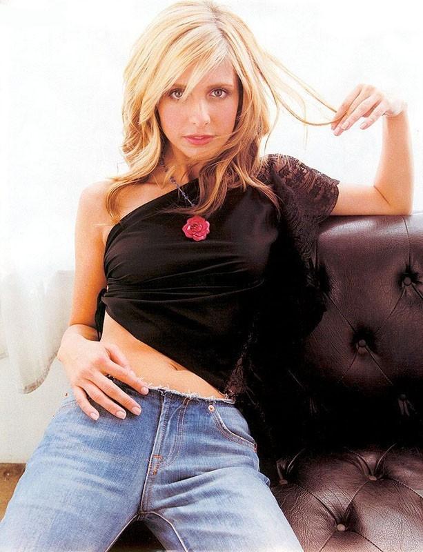 Una sexy immagine di Sarah Michelle Gellar