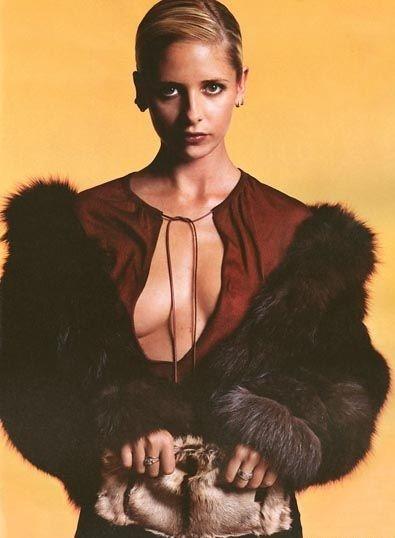 Una splendida e sensuale Sarah Michelle Gellar