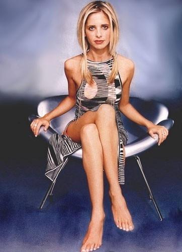 Sarah Michelle Gellar in versione sexy & glamour