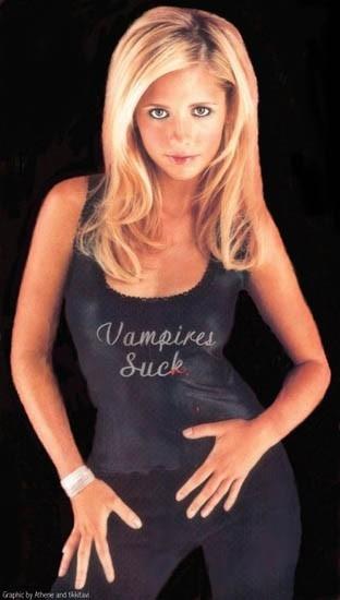 secondo Sarah Michelle Gellar, 'Vampires Suck'