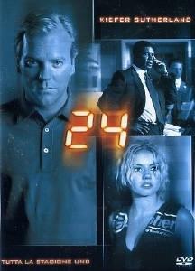 La copertina DVD di 24 - Stagione 1