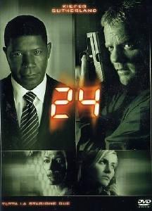 La copertina DVD di 24 - Stagione 2