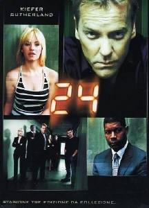 La copertina DVD di 24 - Stagione 3