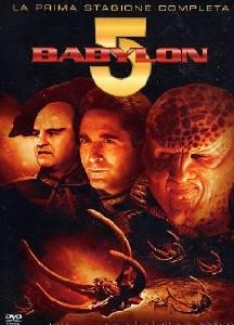 La copertina DVD di Babylon 5 - Stagione 1