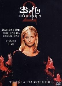 La copertina DVD di Buffy l'Ammazzavampiri - Stagione 2