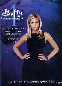 La copertina DVD di Buffy l'Ammazzavampiri - Stagione 4