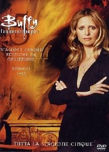 La copertina DVD di Buffy l'Ammazzavampiri - Stagione 5