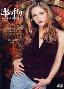 La copertina DVD di Buffy l'Ammazzavampiri - Stagione 6