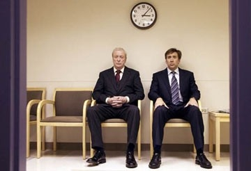 Michael Caine e Nicolas Cage in The Weather Man